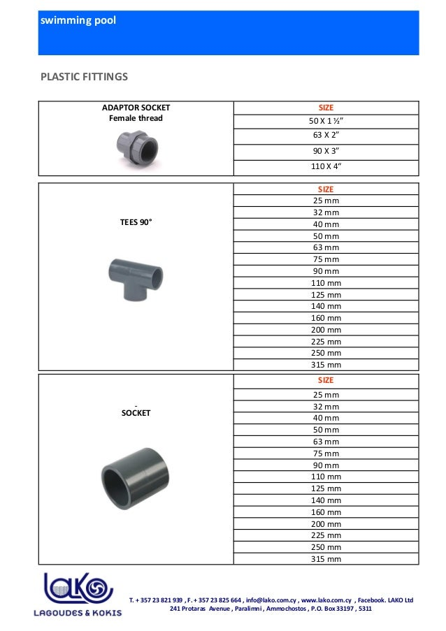 swimming pool PLASTIC FITTINGS TEES 90° SIZE 25 mm 32 mm 40 mm 50 mm 63 mm 75 mm 90 mm 110 mm 125 mm 140 mm 160 mm 200 mm ...