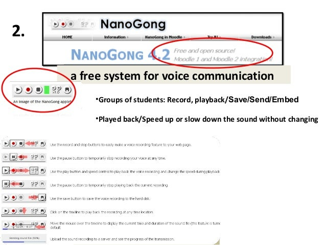 Let students practice recording and listening to their voice. Send it as attachment.    Record, playback and save their vo...