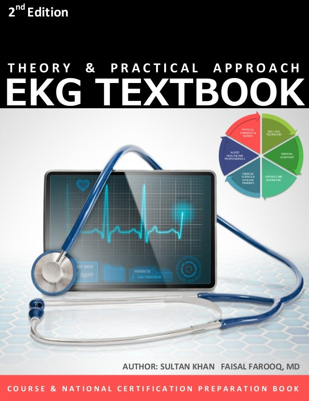 Best Selling EKG Textbook for EKG Technician