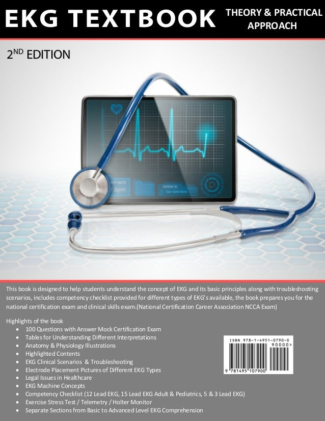 What is the best book to help one learn how to read EKGs ...