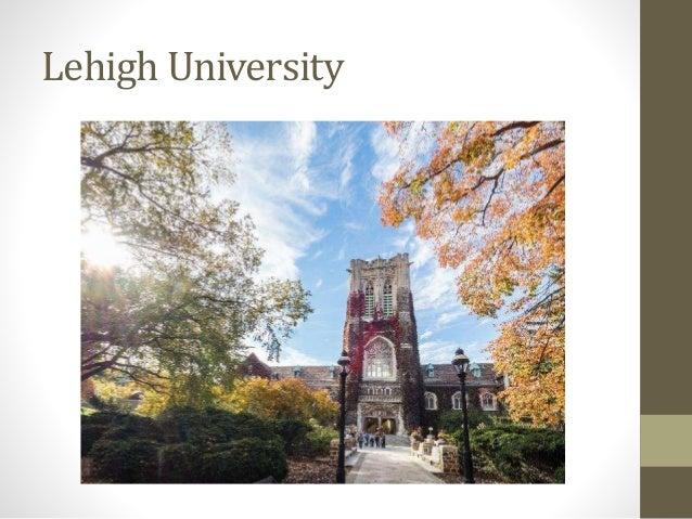 Lehigh application essay