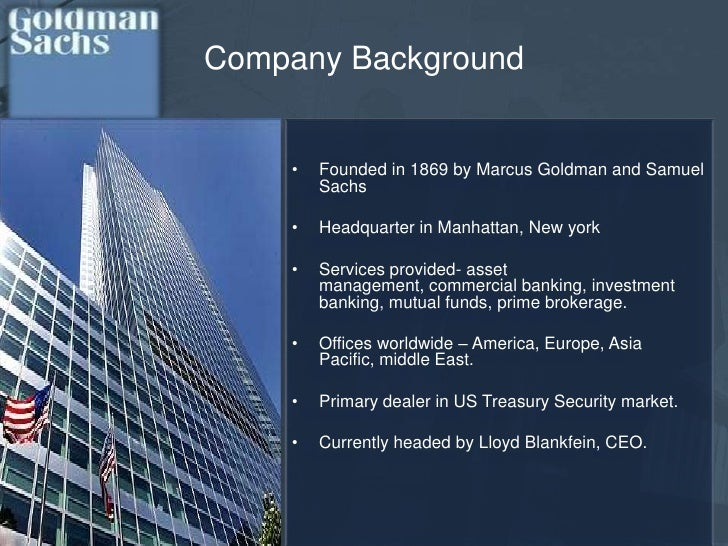 pest analysis for goldman sachs Gir research business analyst job description - download as the goldman sachs group, inc is a leading global financial services firm pest analysis template.