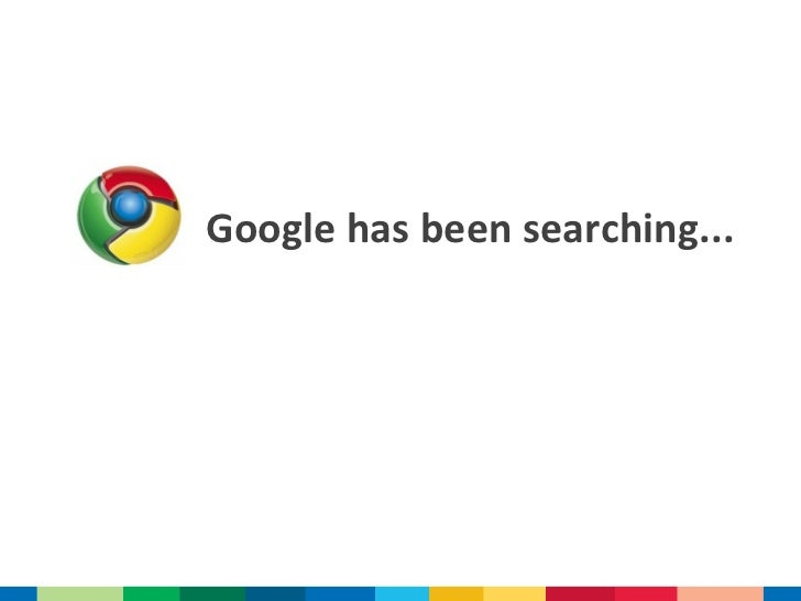 Google has been searching...