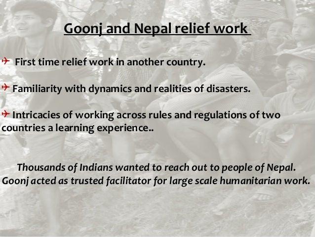 Final goonj in nepal 18th june- 15 Slide 2