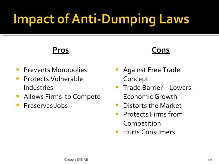anti-dumping duty