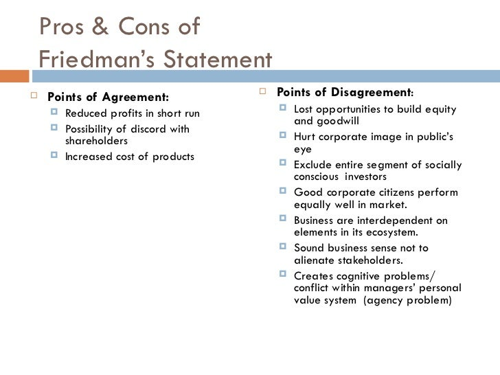 pros and cons of stakeholders theory