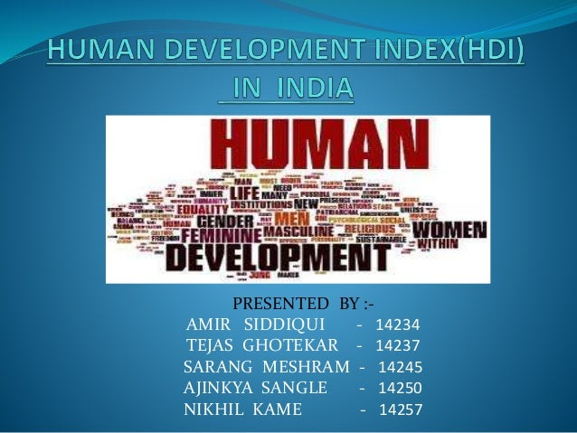 how to read human development index