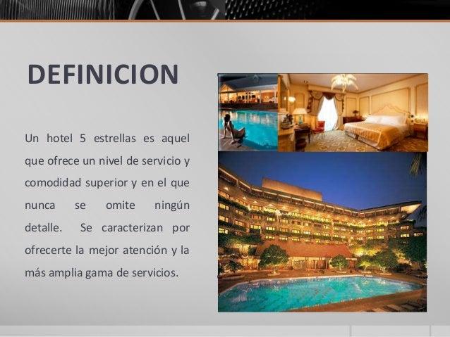 hotel 5 estrellas