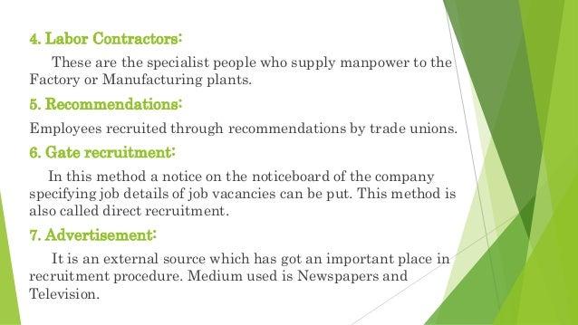 advantages of external recruitment pdf