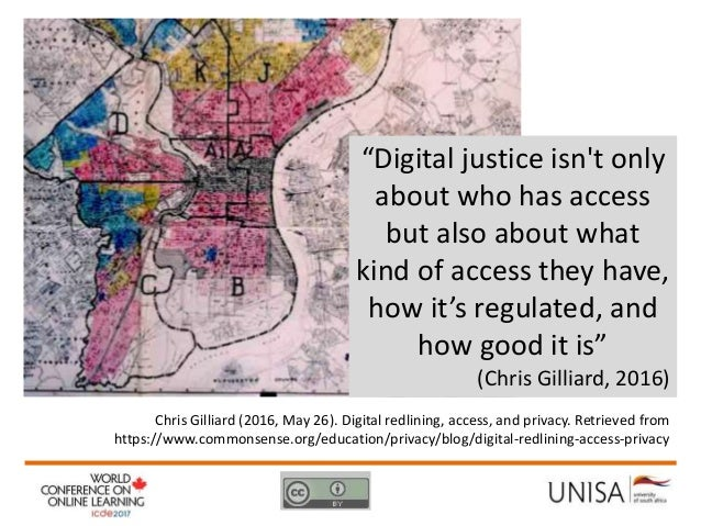 Expanding (digital) access, openness and flexibility