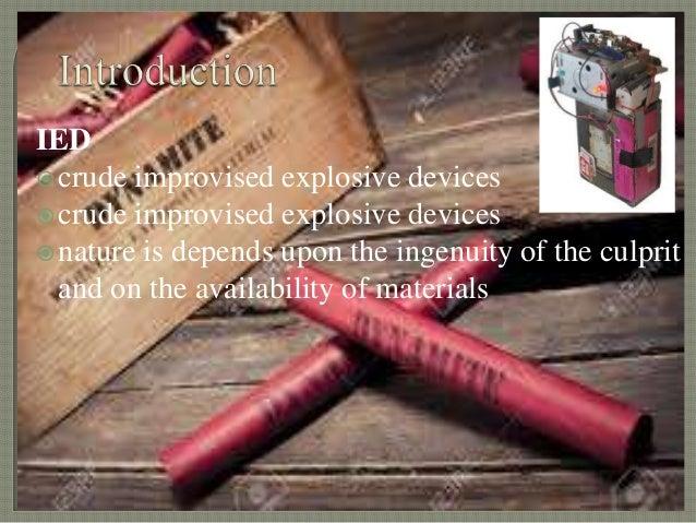 Resultado de imagen de improvised explosive devices