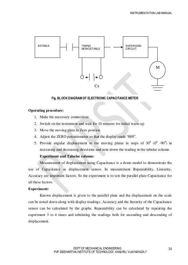 final instrumentation lab manual rh slideshare net Electric Circuit Project Simple Series Circuit