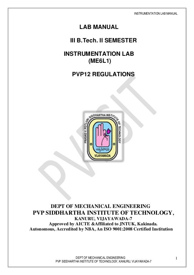 final instrumentation lab manual rh slideshare net Parallel and Series Circuits Electric Circuit