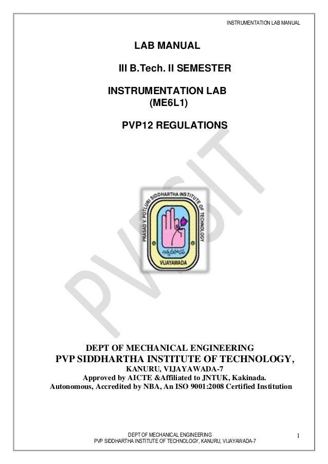final instrumentation lab manual rh slideshare net Electric Circuit Project Battery Circuit