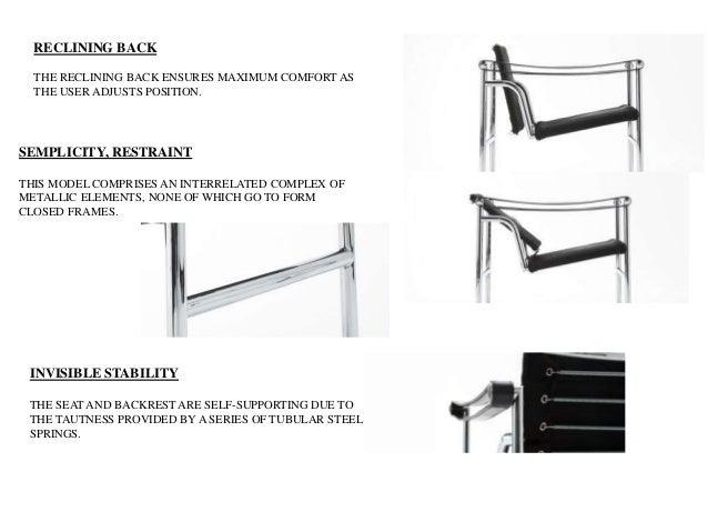 LE corbusier- chair designs