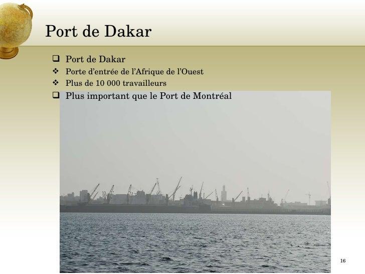 L internationalisation de la formation au c gep andr laurendeau - Recrutement port autonome de dakar ...