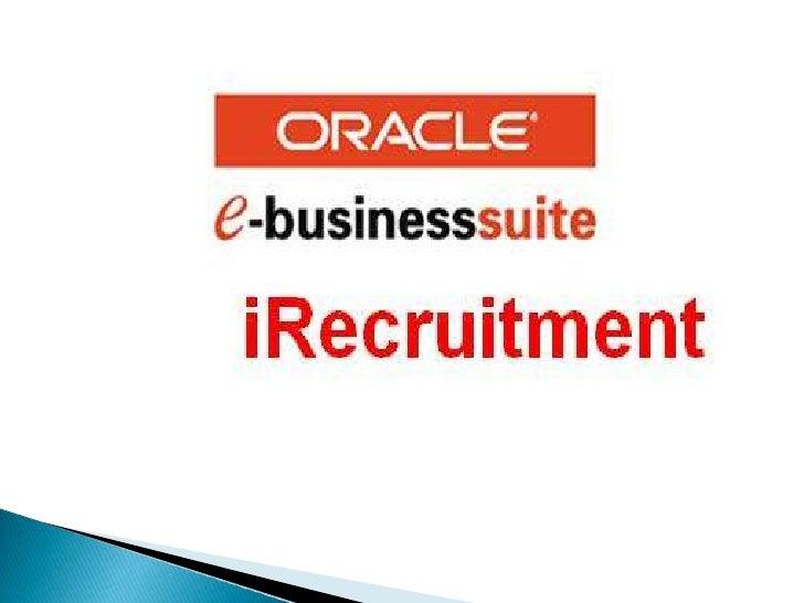iRecruitment
