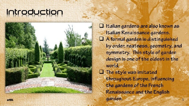 The italian garden introduction 5 sisterspd