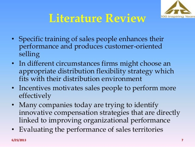 literature review sales strategy Literature review of sales promotion promotion on sales more precisely emerging literature in behavioural leading seat at the strategy table and use.