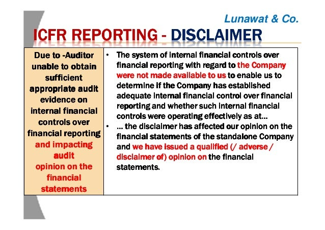 Finalization Of Financial Statements And Audit Reports