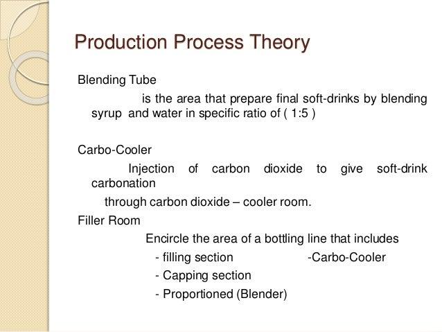 soft drink production process pdf