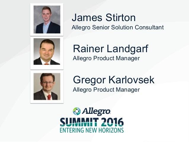 2016 Allegro EMEA Summit_EMEA Power & Gas_James Stirton Slide 2