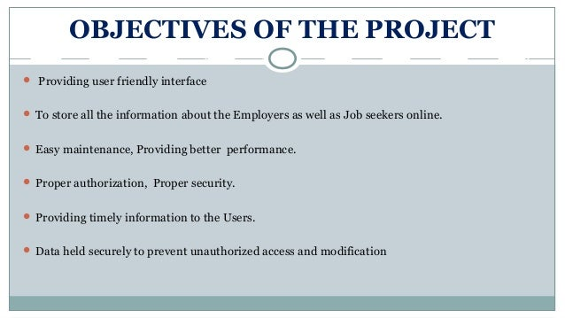 Virtual Job Portal System