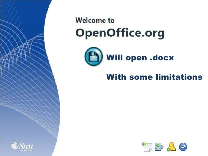 Will open .docx<br />With some limitations<br />