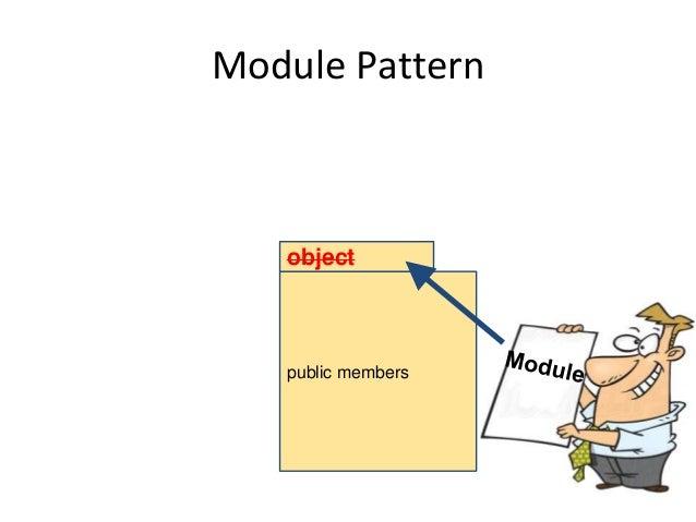 Module Pattern public members object