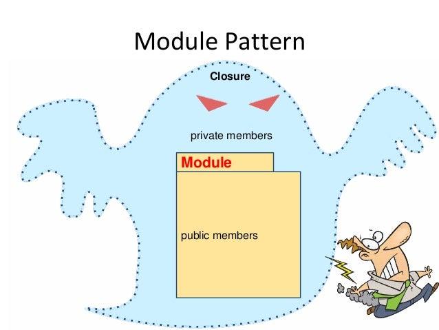 Module Pattern public members Module Closure private members