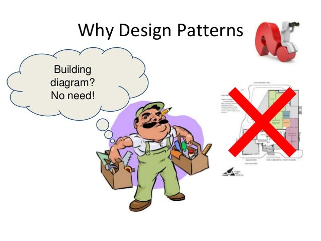 Why Design Patterns Building diagram? No need!
