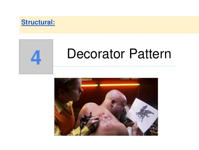 Decorator Pattern Structural: 4