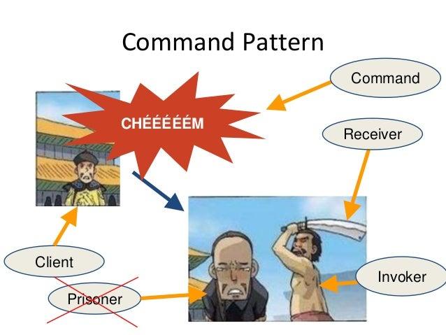 Command Pattern Receiver Invoker Prisoner Client Command CHÉÉÉÉÉM