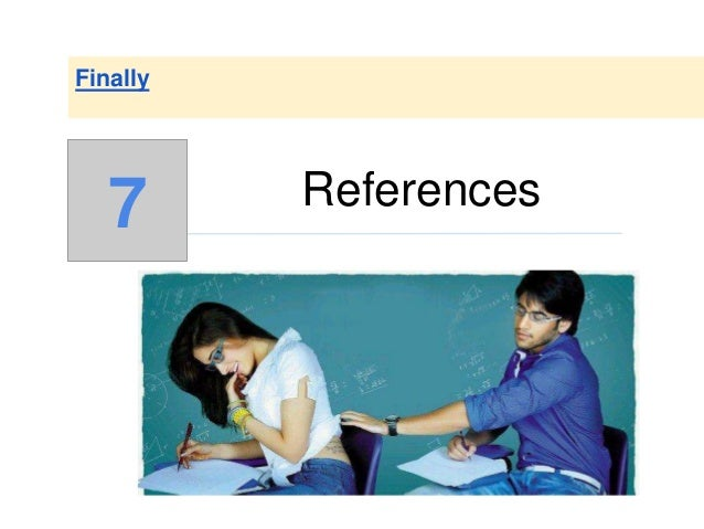 References Finally 7