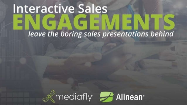 Webcast: Interactive B2B Sales Engagements: Leave the Boring Presentations Behind with Interactive Value-Based Sales Tools
