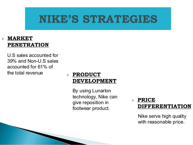 swot so analysis nike Nike swot analysis strengths • nike is a very competitive organization phil knight (founder and ceo) is often quoted as saying that 'business is war without bullets.
