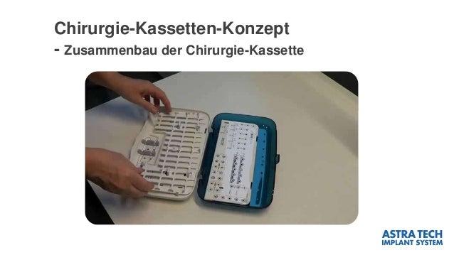 Chirurgie-Kassetten-Konzept - Zusammenbau der Chirurgie-Kassette