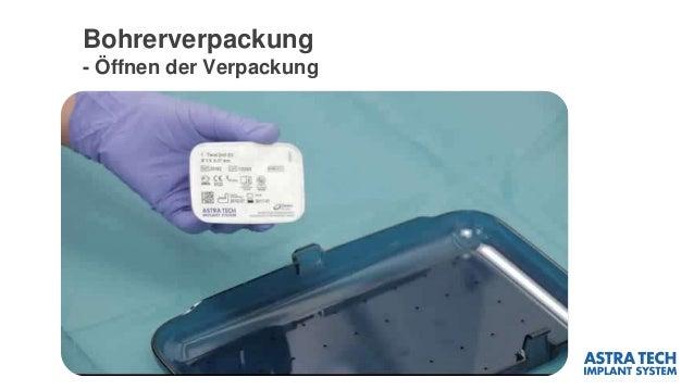 Bohrerverpackung - Öffnen der Verpackung