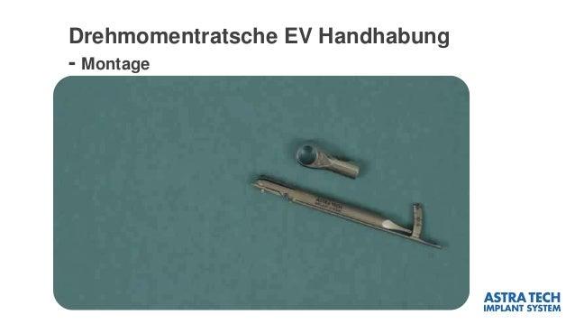 Drehmomentratsche EV Handhabung - Montage