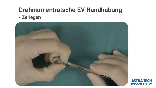 Drehmomentratsche EV Handhabung - Zerlegen