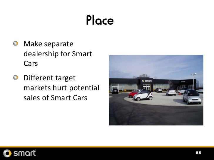 smart car marketing mix The table above concludes the smart car swot analysis along with its marketing and brand parameters.