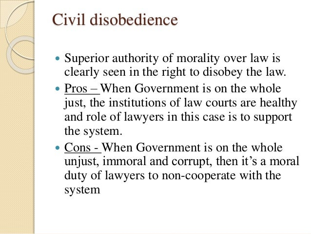 Civil disobedience final draft
