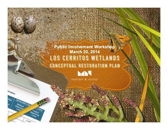 Public Involvement WorkshopPublic Involvement Workshop March 20, 2014March 20, 2014