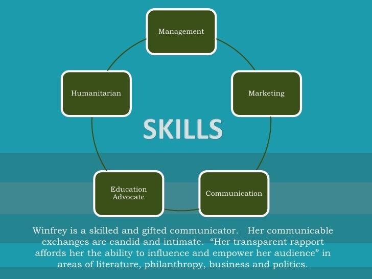 oprah leadership skills