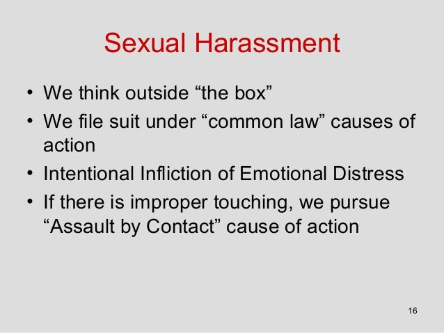 Texas penal code sexual harassment