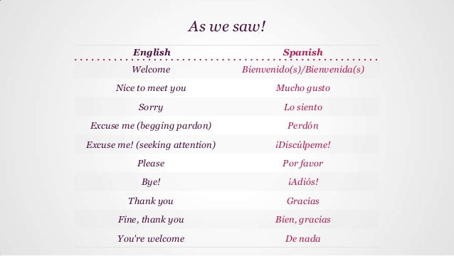 Basic Spanish Lesson 2 Greetings Say Please Sorry Thank You Et Excuse me, how do i get to the bank? basic spanish lesson 2 greetings