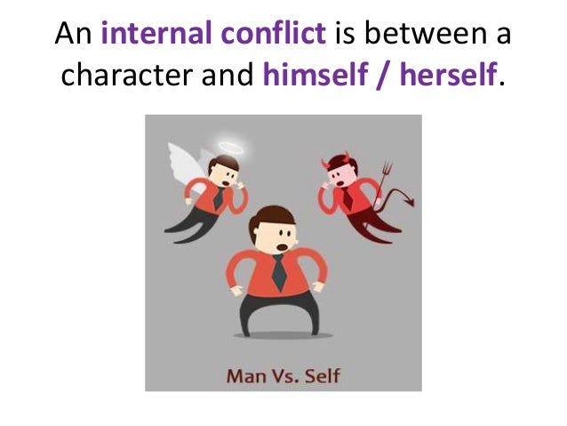 character vs self conflict