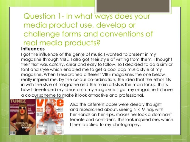 media evaluation for womensfashion magazine genre essay Media evaluation for womens/fashion magazine genre extracts from this  document introduction  related as and a level newspapers & magazines  essays.