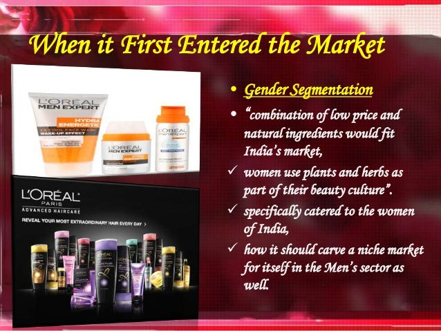 Final loreal ppt marketing
