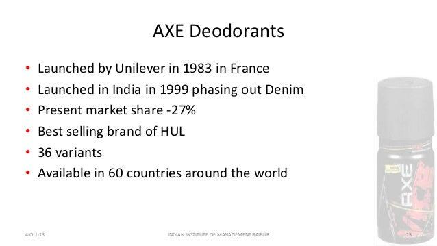 Axe case study - REM | Brand | Market Segmentation